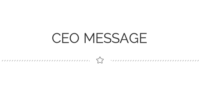ceo message